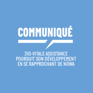3iD-Vitale Assistance poursuit son développement en se rapprochant de Nüwa
